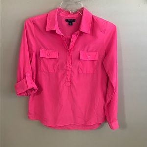 Old Navy Pink Button Up